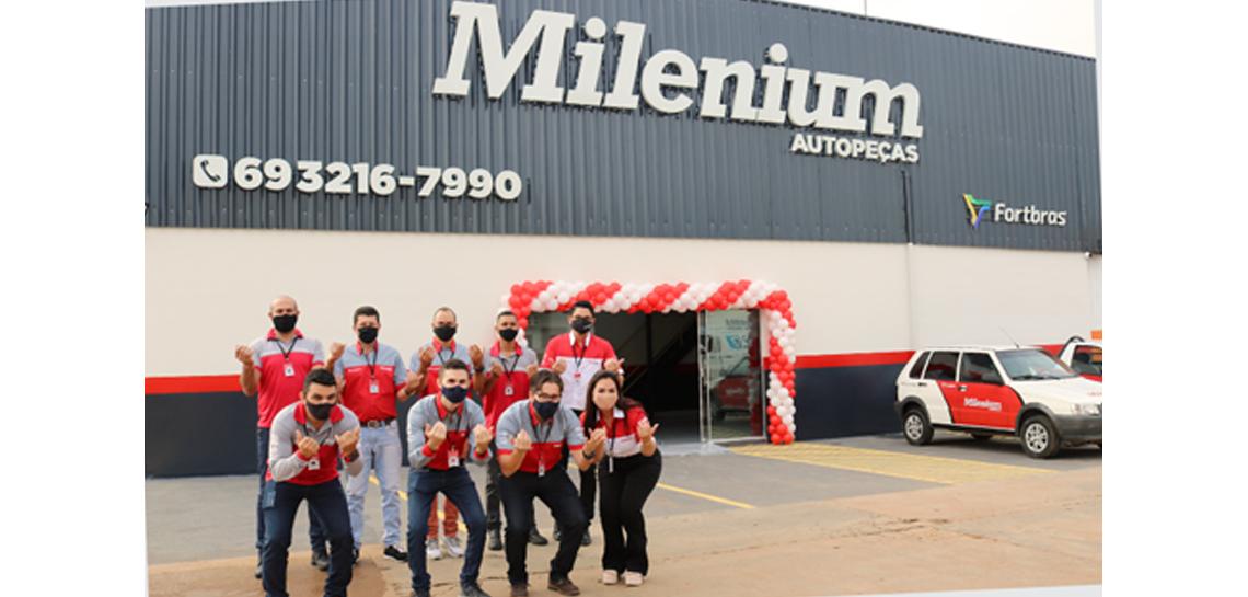 Mais uma filial Inaugurada: Milenium Porto Velho
