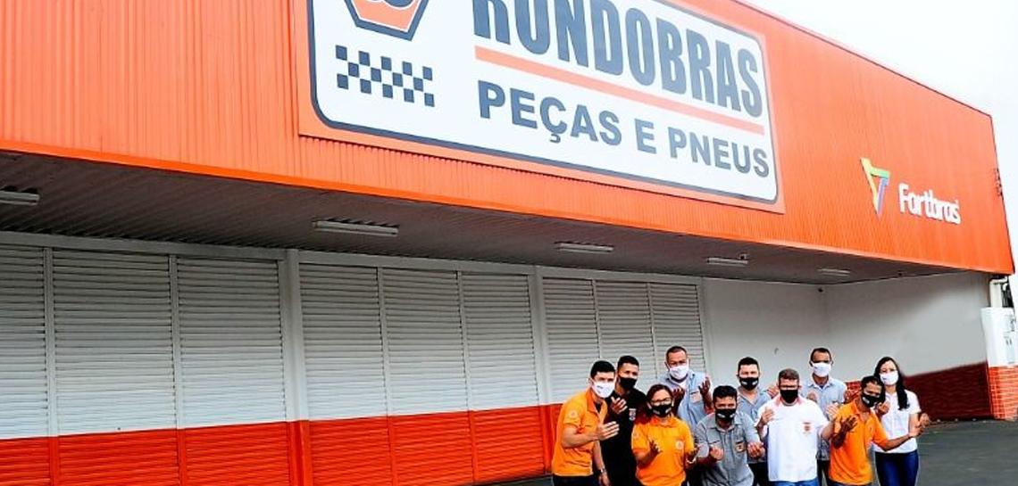 Mais uma filial inaugurada: Rondobras Loja 28 Manaus